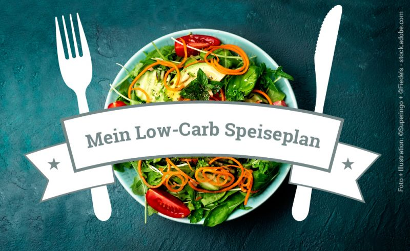 Low-Carb Speiseplan